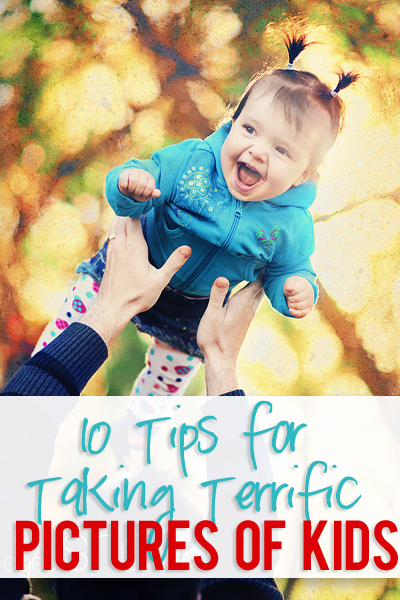 tips for taking terrific photos of kids