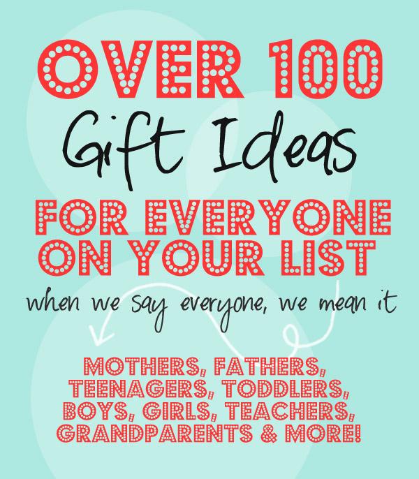 100 Gift Ideas