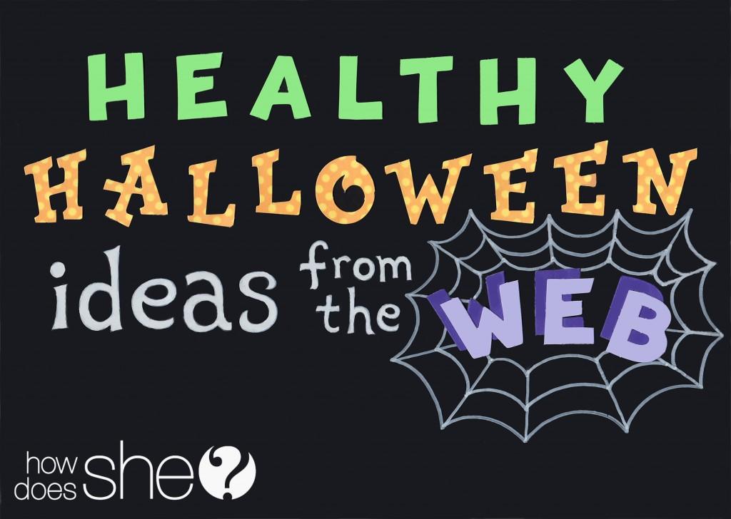 healthy halloween treat idea