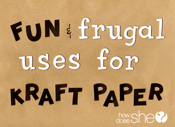 uses for kraft paper