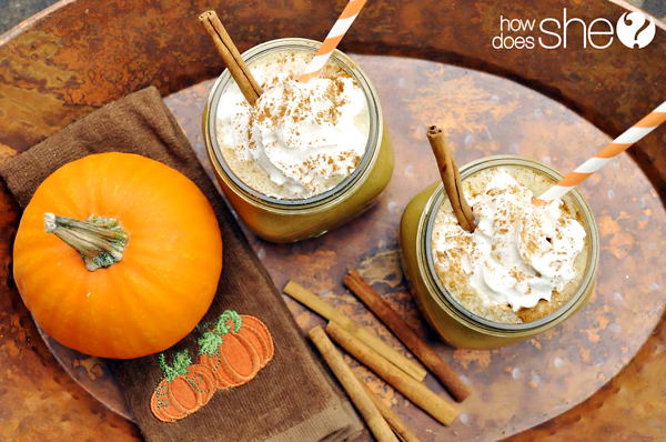 Pumpkin Spice Drink and Pumpkin Pie Bites
