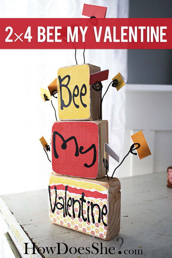 2×4 BEE My Valentine