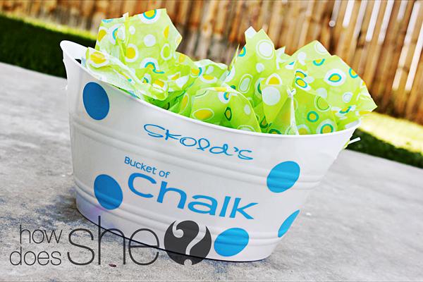 Bucket of Chalk