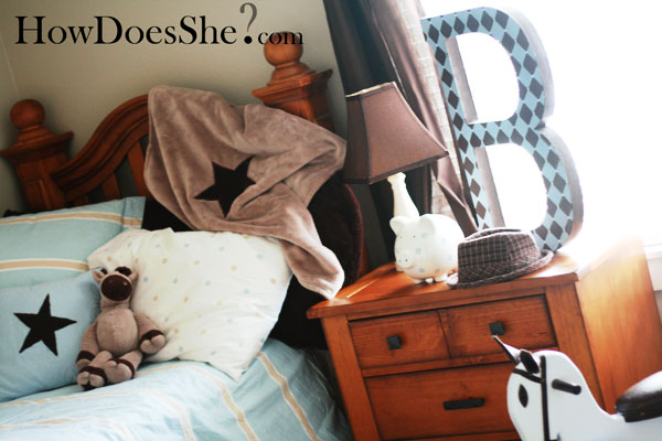 Decorating Toddler Boy Room on a Budget