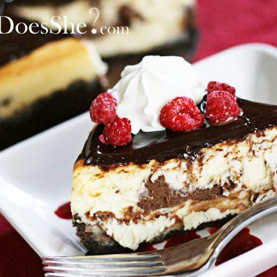 HowDoesShe Master the Art of Cheesecake?