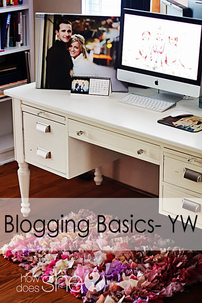 Basics of blogging.