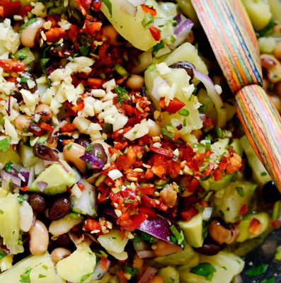 Pineapple, Avocado & Bean Salsa