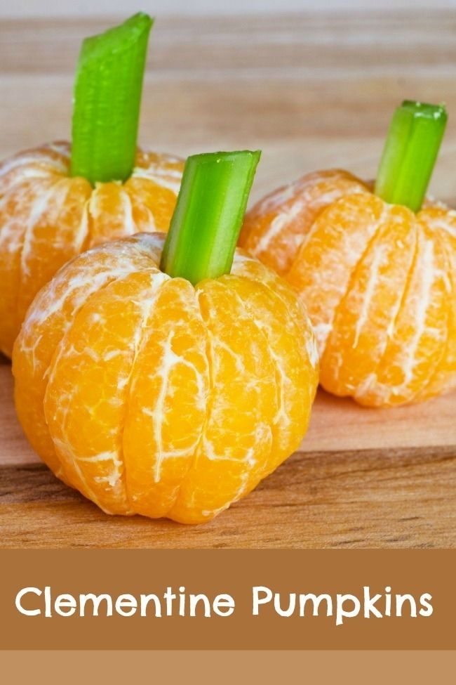 Healthy Halloween Treat Ideas That Would Be Great for a Class Party!