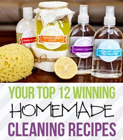 Your Top 12 Contest Winning Homemade Cleaning Recipes