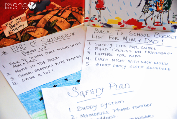 Back To School Bucket List For The Family