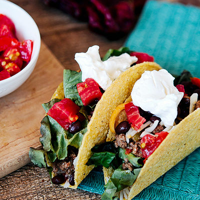 Easy Freezer Taco Filling