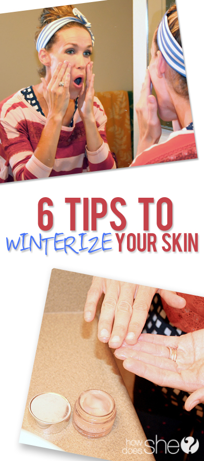 Be ahead of the game.. Prepare to WINTERIZE your SKIN