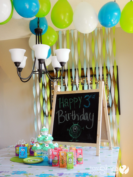 Monster Birthday Bash and Your Chance To Win!