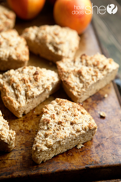 Turning those Honey Crisp Apples into Scones was a total kitchen ...