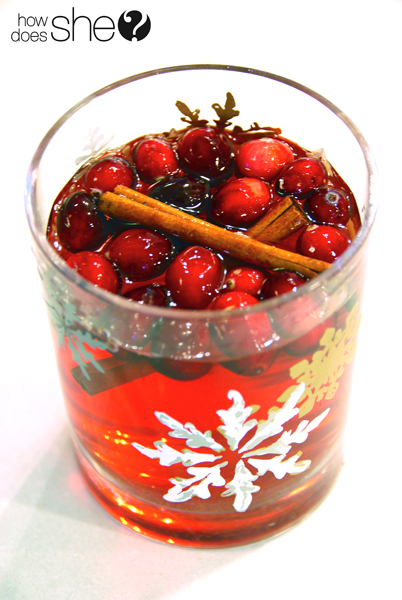Cranberry Christmas Cider