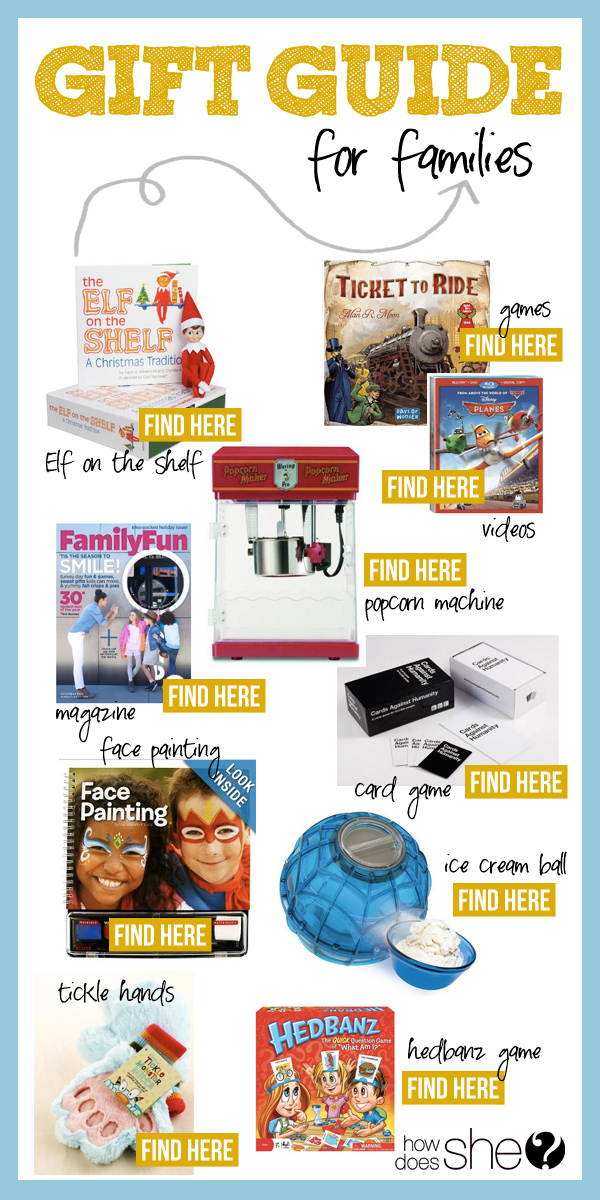 2013 Gift Guide – Families