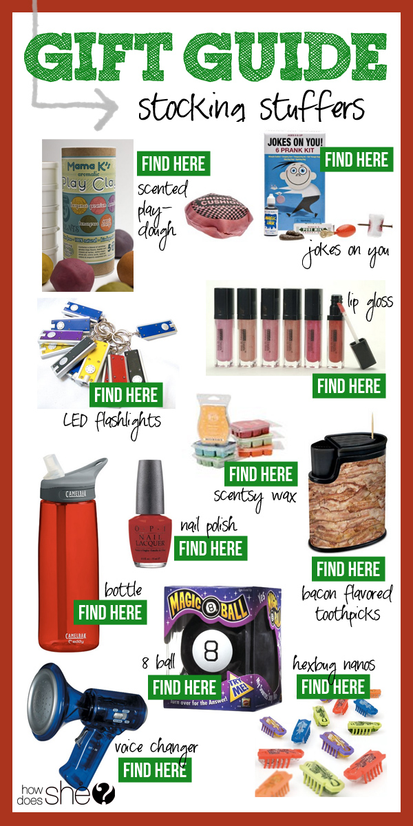 2013 Gift Guide – Stocking Stuffers