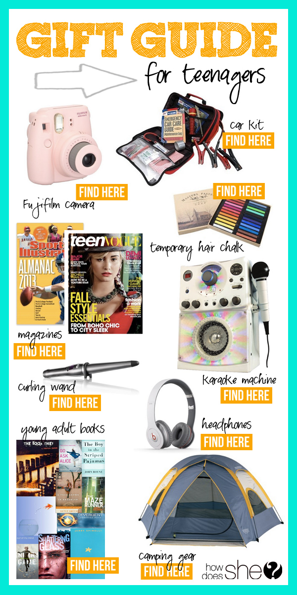 When it's time to give a teen a gift, it's easy to write a check and call it a day. Holiday For Kids Tweens And Teens Gift Guide Holiday Holiday Living Kid Shopping Gifts For Teens Parenting.