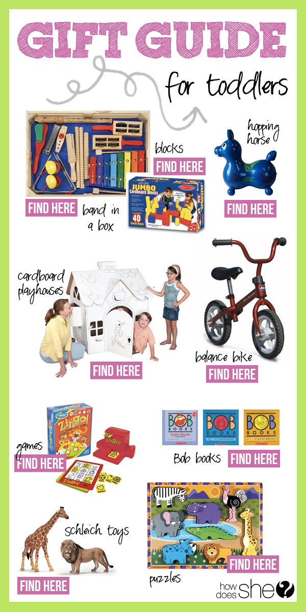 2013 Gift Guide – Toddlers