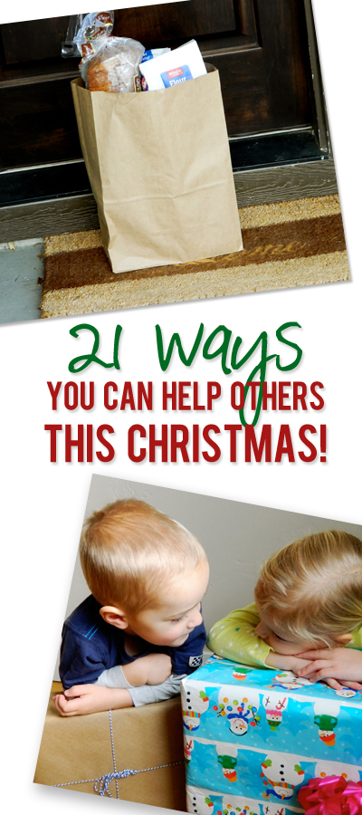 21 Ways To Be a Little More Giving This Season