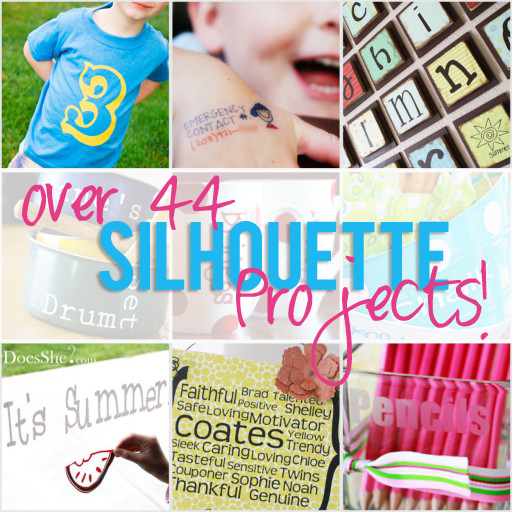 Silhouette Vinyl Project Ideas