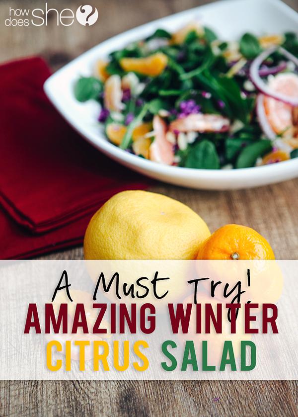 winter citrus salad pinterest