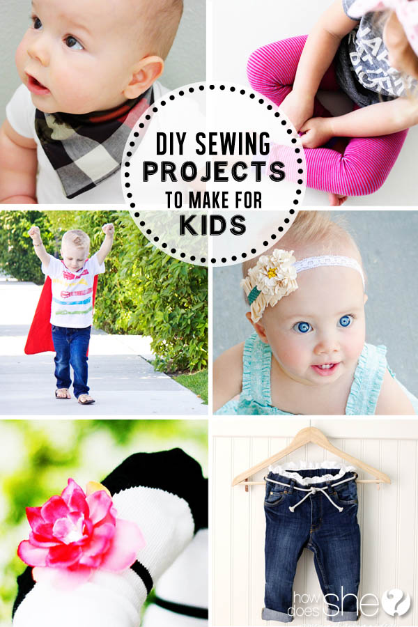 DIY Sewing Projects to Make for the Kids