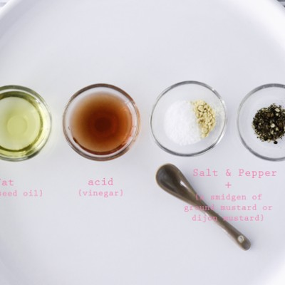 Three Salad Dressing Bases {Part 2} a Vinaigrette Primer