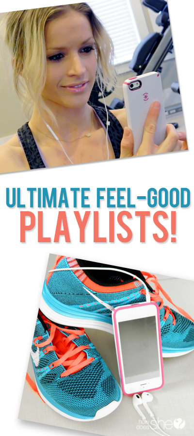 The Ultimate Feel-Good Playlists for Running, Cleaning, the Gym, and More!