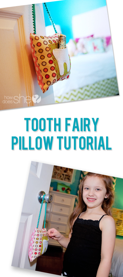 Fairy Easy! – Tooth Fairy Pillow Tutorial