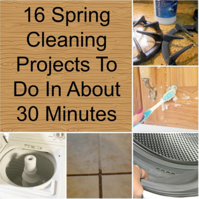 16 Spring Cleaning Ideas To Do In About 30 Minutes