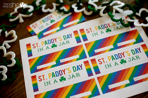 rainbow st patricks day printables (2)