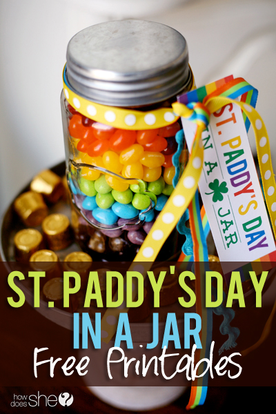 St. Paddy's Day in a Jar