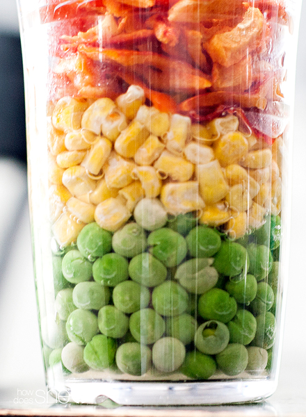 Hydrating Freeze Dried Veggies