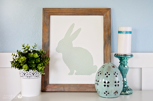 Easy Framed Easter Art