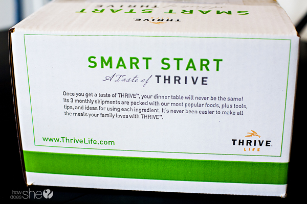 Taste of Thrive Box copy