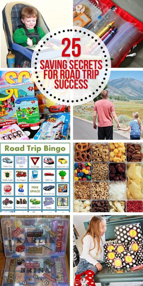 25 Secrets To Road Trip Success!