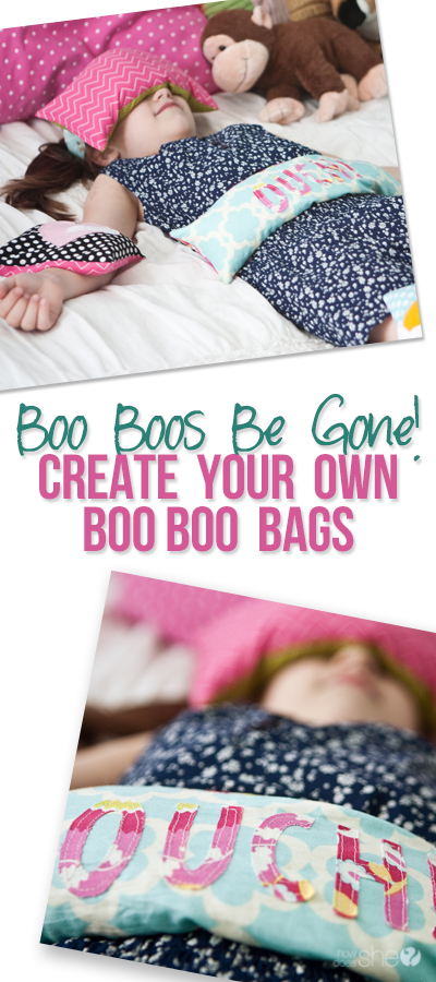 Boo Boos Be Gone! Create your Own Boo Boo Bags