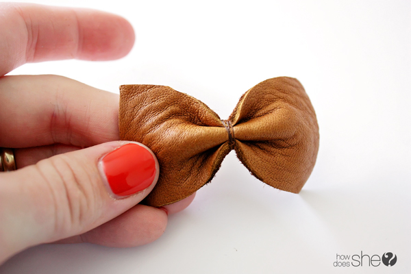 emily leather hair bow (11)