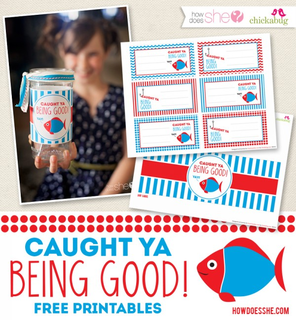 Caught Ya Being Good! Free Exclusive Printables!