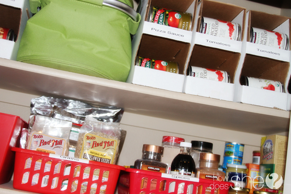 pantry can organizer