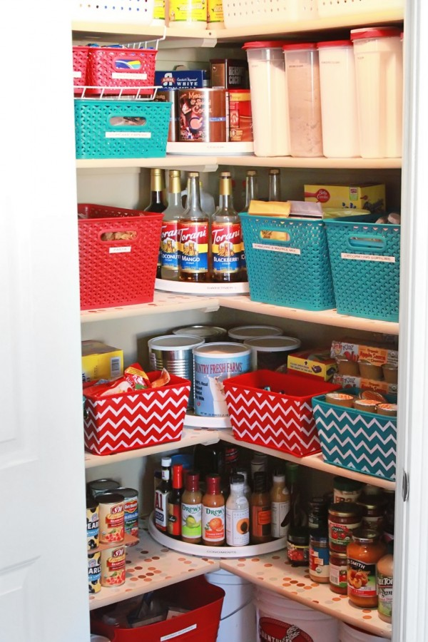 Organized Pantry Canned Food Problem Solved How Does She