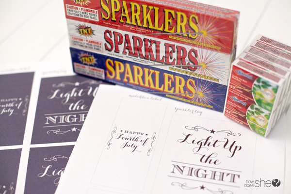 Light up the night this Fourth of July! – FREE EXCLUSIVE SPARKLER PRINTABLE