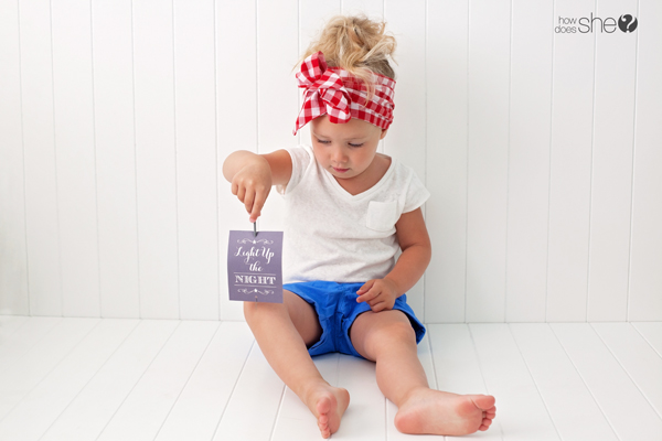 FREE 4th of July printables for your sparklers!