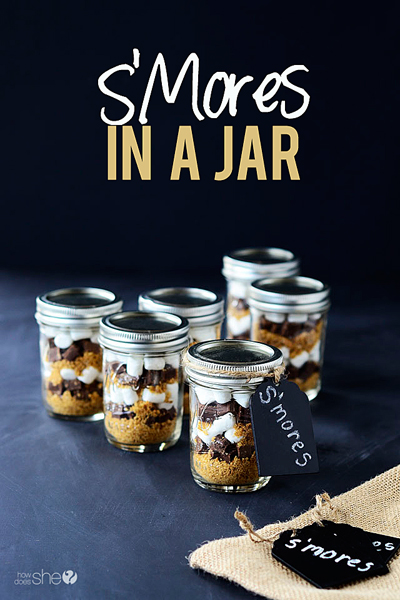 S'mores-in-a-jar pinterest