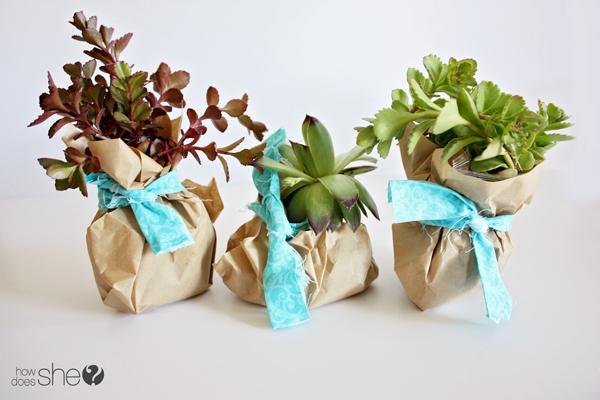 Fairy Garden Gift Basket