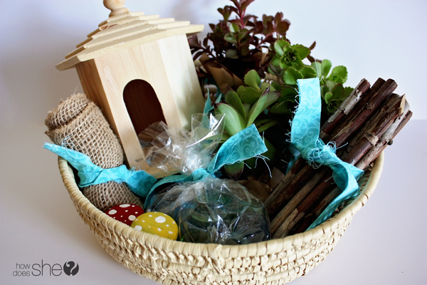 Gardening Gift Basket Ideas high quality gardening gift basket ideas 5 garden gift basket Emily Fairy Garden Gift 9