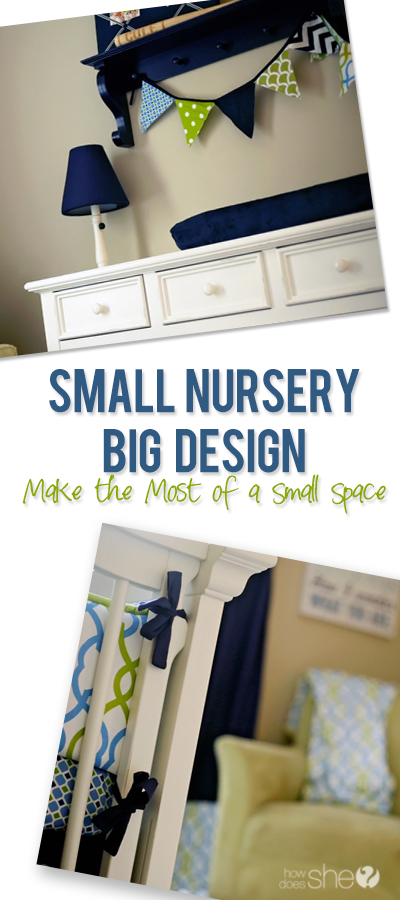 Small Nursery, Big Design – Featuring Carousel Designs Baby Bedding