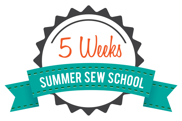 5 Week Summer Sew School