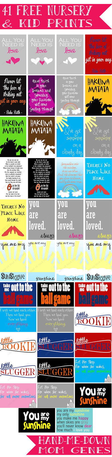 iShare's Favorite Summer Printables